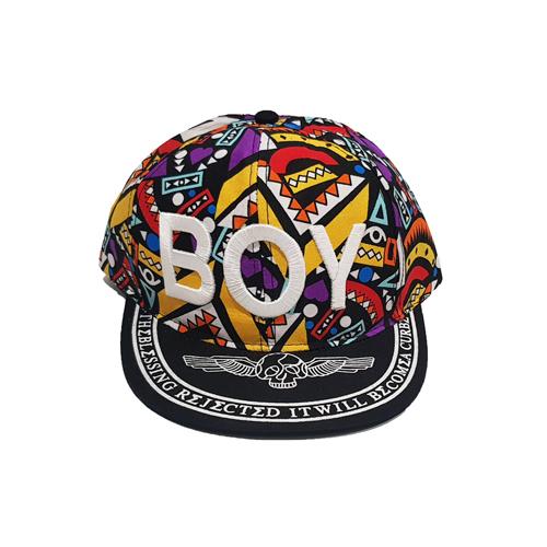 کلاه کپ بنفش طرح BOY
