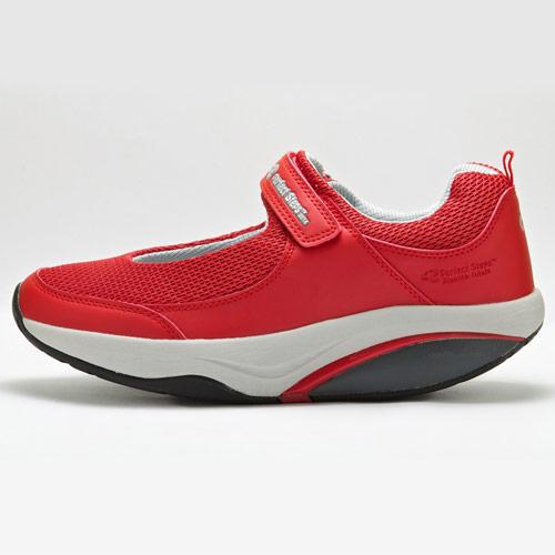 کفش پیاده روی پرفکت استپس چسبی سری آرمیس زنانه قرمز